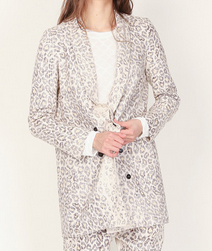 Raquel Allegra Linen Long Jacket