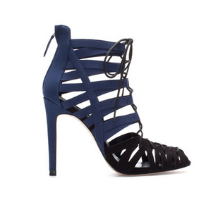 Zara High Heel Ankle Boot Sandal
