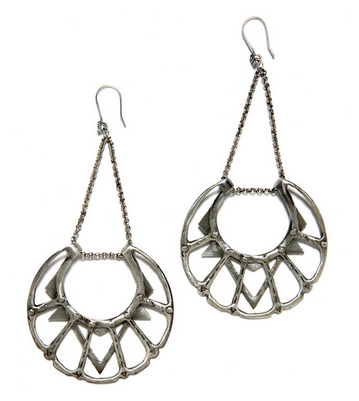 Bing Bang Moon Chandelier Earrings