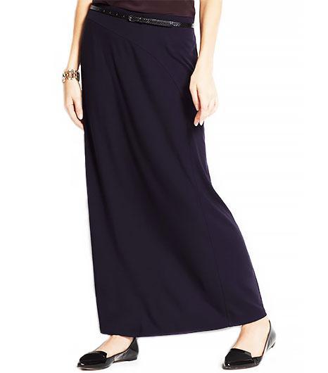 Ann Taylor  Column Maxi Skirt