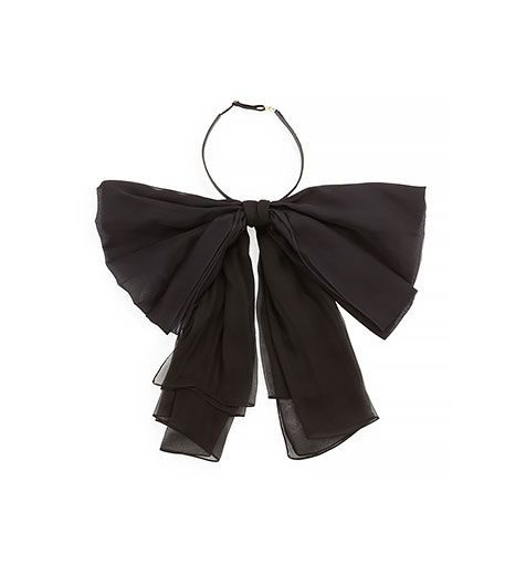 Saint Laurent  Silk Bow Neck Tie
