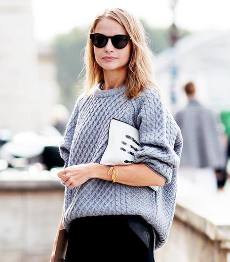 7 Inspiring Ways To Reinvent A Grey Sweater