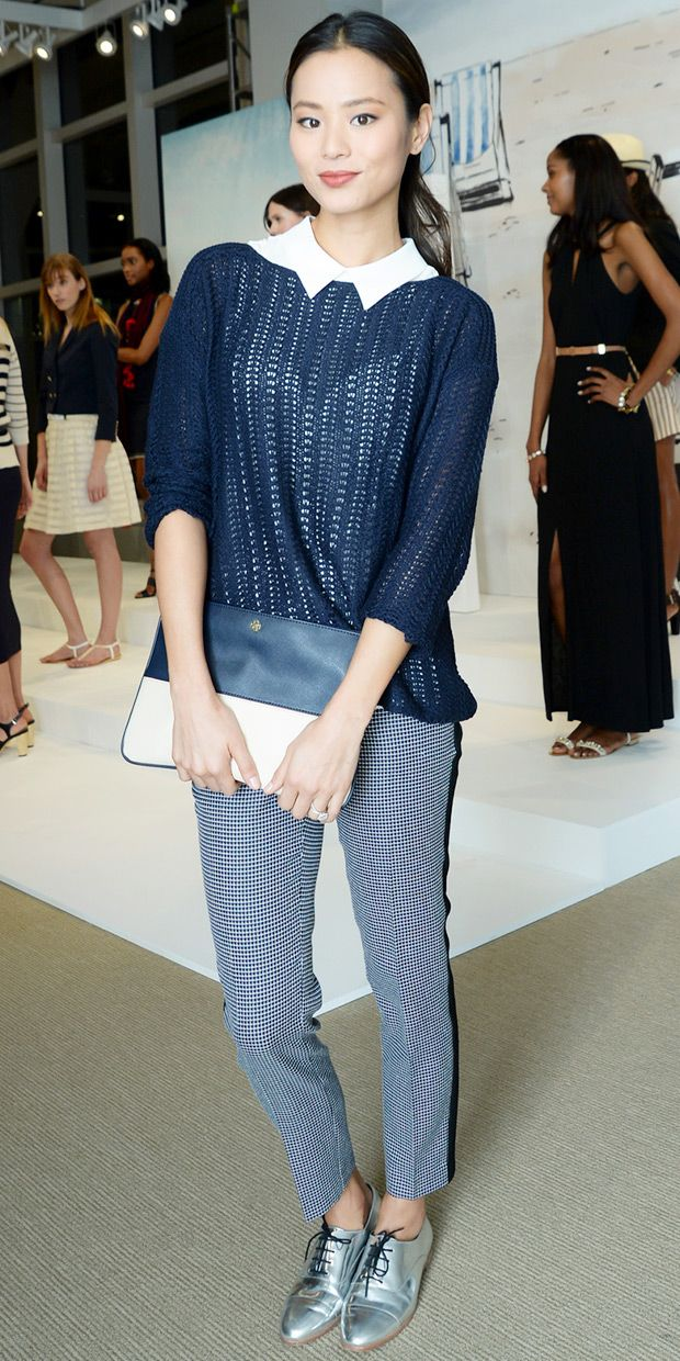 Jamie Chung Does Easy Chic At Ann Taylor Presentation