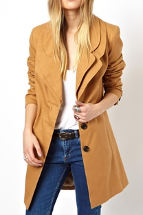 ASOS Double Collar Coat