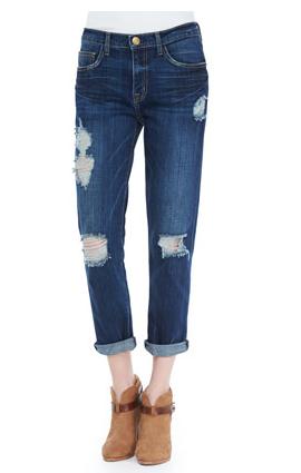 Current/Elliott  The Fling Destroyed Jeans