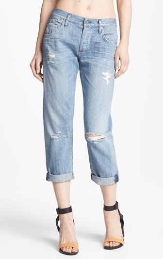 Citizens of Humanity Dylan Destroyed Loose Fit Jeans