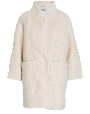 Ganni  Woollen Wool Coat