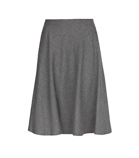 mango Premium-Flared Midi Skirt