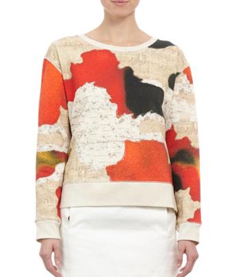 Acne Studios  Avedon-Print Sweatshirt