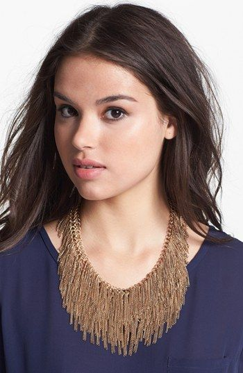 Tasha  Raining Chains Collar Necklace