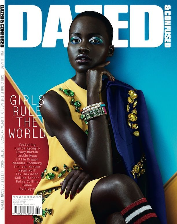 Lupita Nyong'o For Dazed & Confused