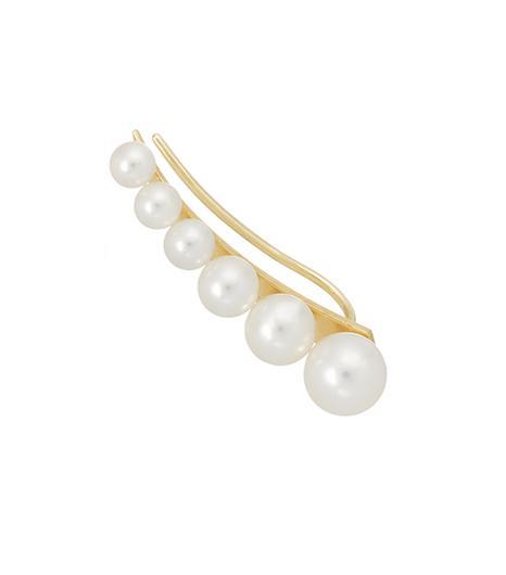 Sophie Bille Brahe  14K Gold Pearl Ear Cuff