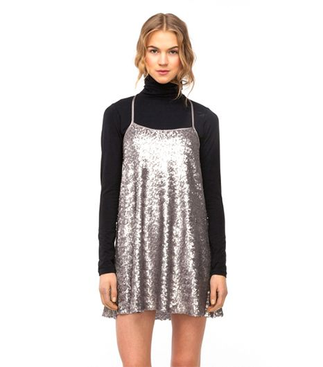 Need Supply Carousel Dress ($62)   We love this nighttime staple paired with a turtleneck.