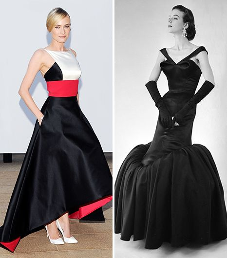 "On Diane Kruger: Prabal Gurung dress When we say ""evening gown,"" we tend to think of the bouffant ball gowns concocted by American couturier Charles James. If you're lucky enough to attend..."