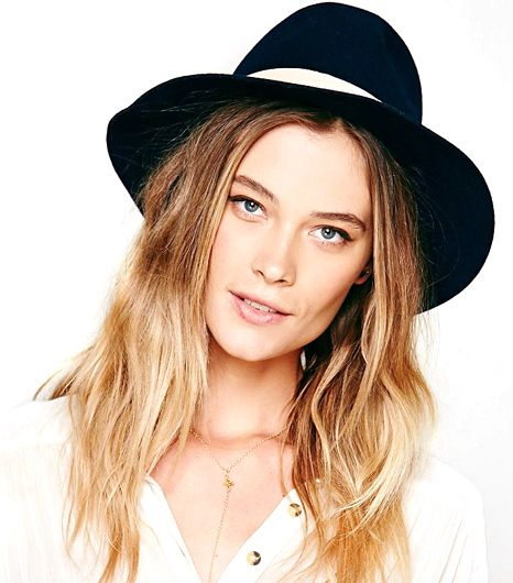 Hat Attack Leather Banded Floppy Hat