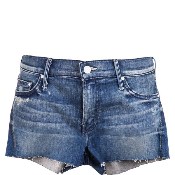 Mother Cutoff Denim Shorts