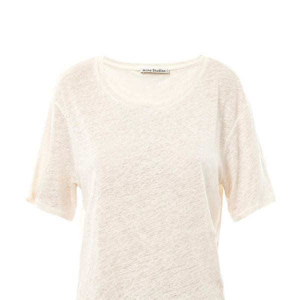 Acne Wonder Linen T Shirt