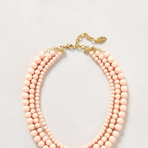 Anthropologie Boreal Bib Necklace