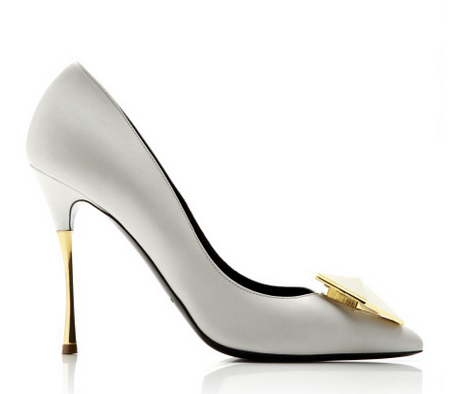 Nicholas Kirkwood  Guilded Bijoux Leather Pumps