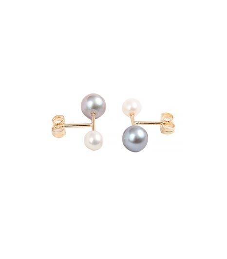 Hortense  Majorette Pearl Earrings
