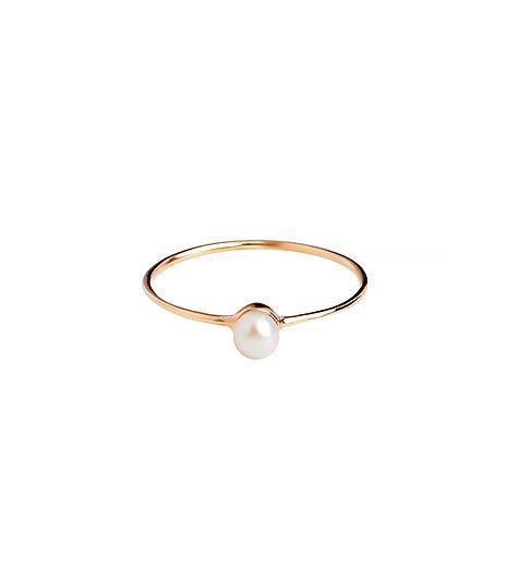 Batya Kebudi  White Pearl Ring