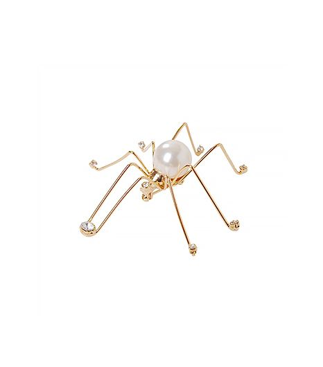 Humble Chic  Diamond Spider Brooch