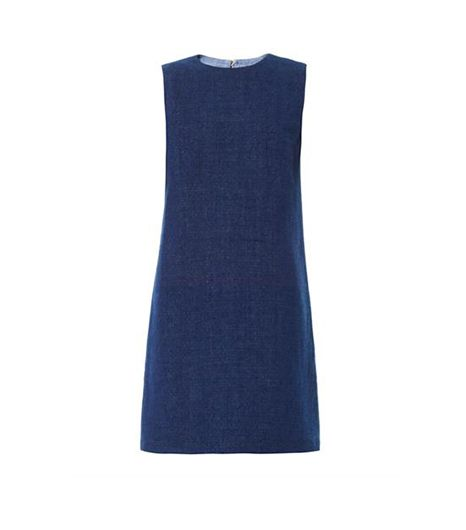 The Row Majay Denim Shift Dress