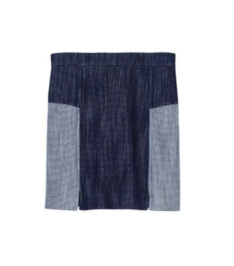 Tibi Basketweave Skirt
