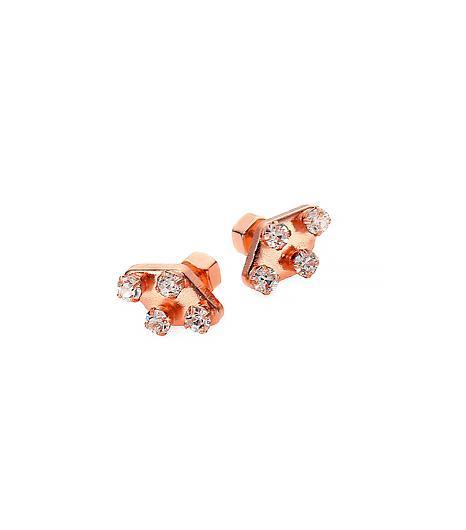 Marc by Marc Jacobs  Diamond-Shaped Stud Earrings