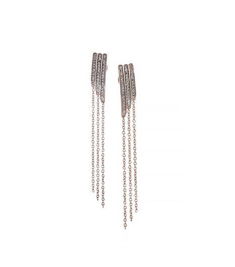 Monica Vinander Diamond Earrings