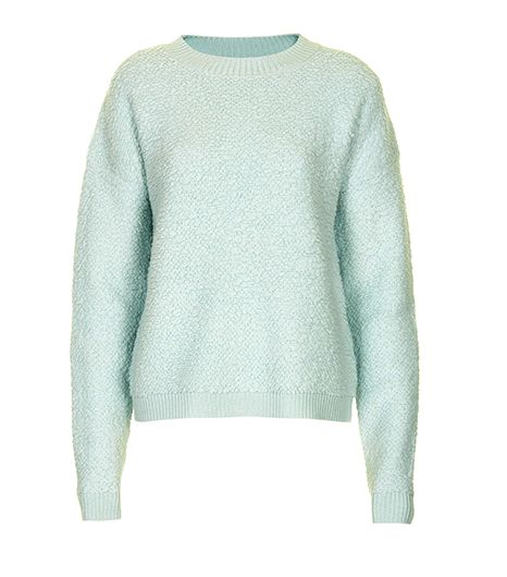 Topshop  Mint Bobble Jumper