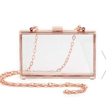 Nasty Gal Crystal Glimmer Clutch