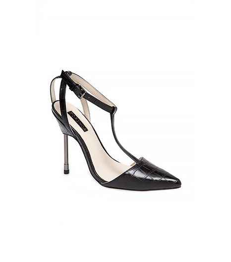 Topshop Ghost T-Strap Pump