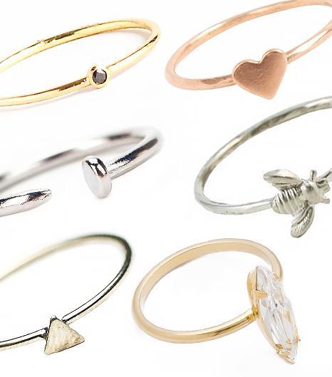 17 Dainty Rings Under $75