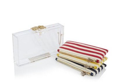 Charlotte Olympia  Pandora Knot Clutch