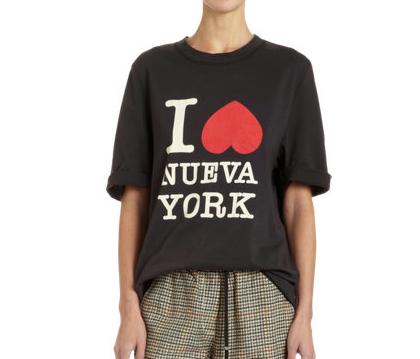 3.1 Phillip Lim I Love Nueva York Shirt