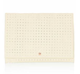 Topshop Heart Perforated Clutch