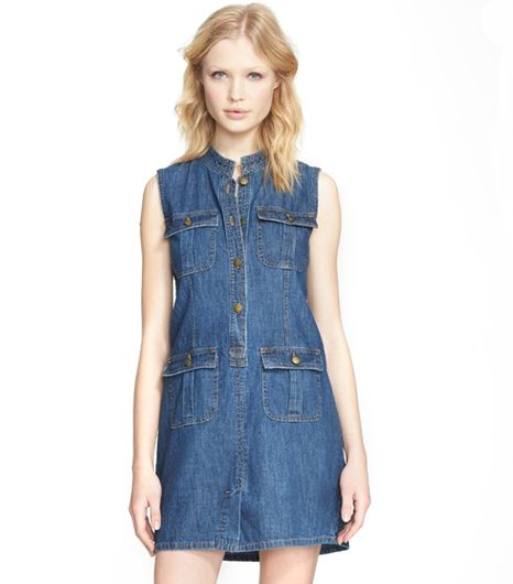 Current/Elliott  The Safari Denim Dress