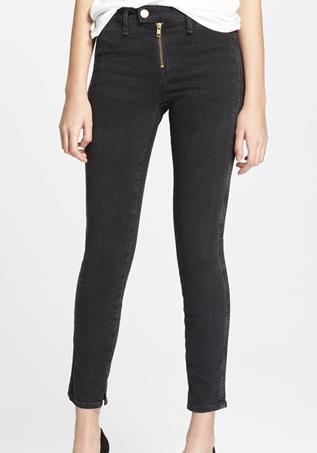 Monrow Gotham Slim Ankle Jeans