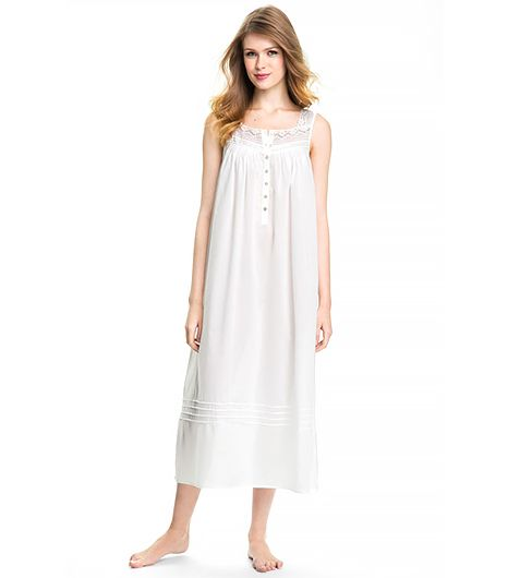 Eileen West Eileen West Sleeveless Ballet Nightgown