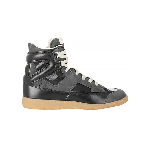 Maison Martin Margiela Maison Martin Margiela Suede, Leather and Mesh Sneakers