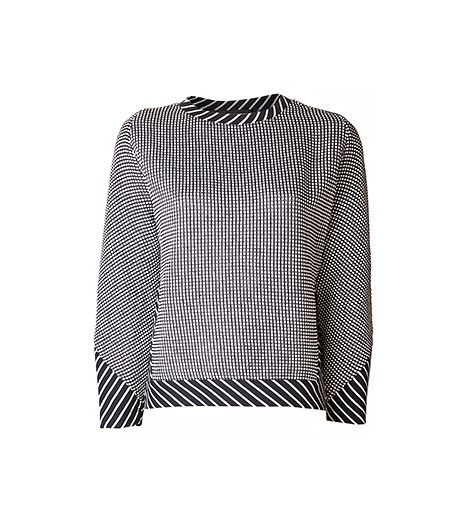 Thakoon Thakoon Dot Striped Sweater