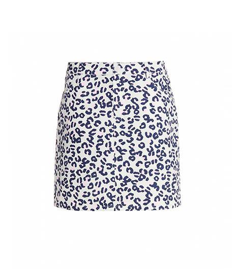 A.P.C. A.P.C. Animal Print Skirt