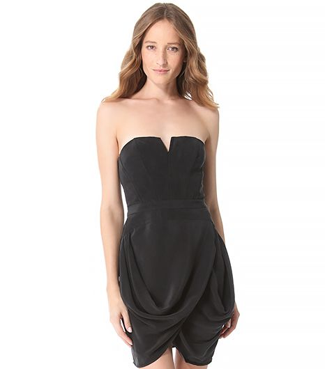 Zimmermann Zimmermann Laced Strapless Dress