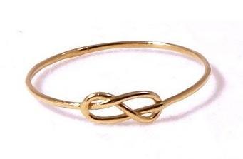 Gabriela Artigas  Gabriela Artigas 14K Yellow Gold Knot Ring