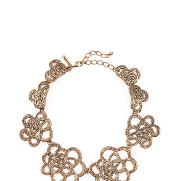 Oscar de la Renta  Oscar de la Renta Gardenia Collar Necklace