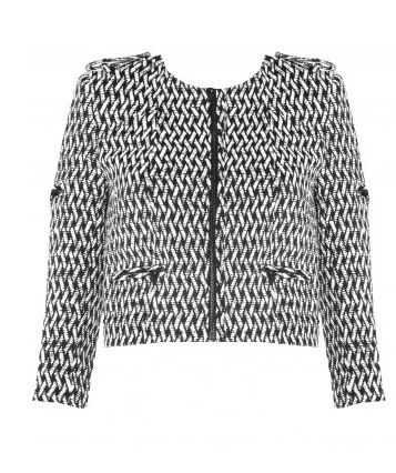 Alice + Olivia Sahara Zipper Biker Jacket