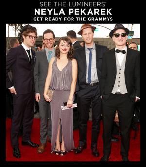 See The Lumineers' Neyla Pekarek Prep for the Grammys