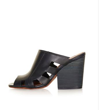 Topshop Unique Heeled Mule Shoes