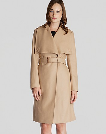 Ted Baker Madigan Draped Front Coat